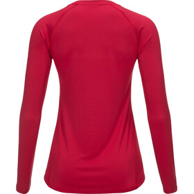 Peak Performance Gallos Co2 Maglietta a maniche lunghe Donna rosa